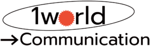 1world Communication logo