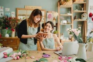 Commerce physique allié au commerce en ligne